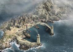 Calushain Docks