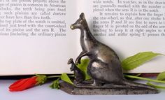 Indian Decorative Vintage Beautiful Hand Crafted Brass Kangaroo Figure. G7-728