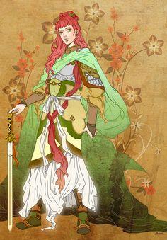 Youko from The Twelve Kingdoms.