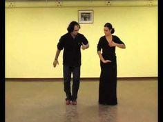 Pedro Córdoba. Aprendiendo a bailar Flamenco Seguirilla Clase de baile