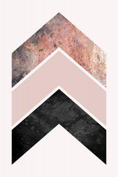 Scandinavian Chevrons | Poster | artboxONE