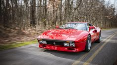 """Possibly my favorite Ferrari ever made the '84 388 GTO.  This was made back when Magnum was driving his 308 GTB on TV.  If you notice, the GTO doesn't have """"Pop up"""" headlamps which I always thought were hideous!  This is a Rare car.  The had one once at Park Place Motors for a while.  I stopped in and sat in it, GLORIOUS. the next day Tom Cruise bought it."""
