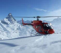 heliski helicopter - leisure winter
