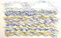 A Good Day for Sailing original signed drawing by allthingsbarbara