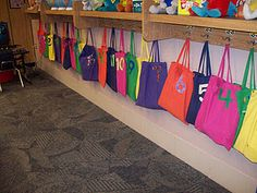 each student has a materials bag