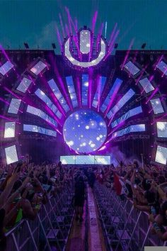 Ultra Music Festival Miami. By: Electro life found on twitter. And th is is an image of an EDM festival called Ultra