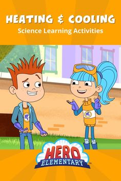 In these free Hero Elementary science activities from PBS Teachers, children explore how materials change when heated🥵 and cooled🥶! These are some of Petie Heat and Freeze Louise's FAVORITES - your little science heroes will have so much fun while they learn! Our friends at ABCmouse.com Early Learning Academy have all sorts of activities across science, math, reading and more. If you want more at-home learning resources, visit www.abcmouse.com! Home Learning, Learning Resources, Early Learning, Science Games For Kids, Elementary Science, Heating And Cooling, Education, Freeze, Change