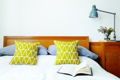 Enter to win a pair of Cotton & Flax pillows! Click through to the blog to find out how.