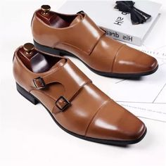 Men's Business Oxford Casual Leather Shoes Trendy Mens Shoes, Mens Fashion Shoes, Shoes Men, Casual Leather Shoes, Suede Leather Shoes, Mens Business Shoes, Kicks Shoes, Shoes Heels, Gentleman Shoes