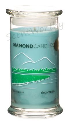 Diamond Candle Mountain Air Ring Candle 21 oz NEW IN BOX SURPRISE RING INSIDE #DiamondCandles