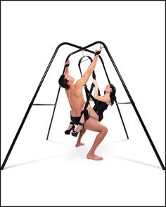 Swinging sex chair