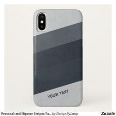 Personalized Hipster Stripes Pattern Case-Mate iPhone Case