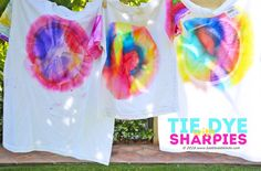 Wearable Science & Art: Sharpie Tie Dye - Babble Dabble Do Zen Doodle Patterns, Doodle Borders, Sharpie Doodles, Sharpie Art, Sharpie Crafts, Sharpies, Sharpie Projects, Craft Projects, Mixing Primary Colors