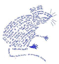 Elèves créateurs - Les calligrammes des sixièmes