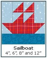 Click here for a traditional Sailboat quilt block tutorial and tons of other patterns