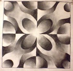 Check out student artwork posted to Artsonia from the Shading and Symmetry project gallery at Milford High School.
