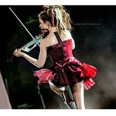 """Instagram: """"Lindsey Stirling Repost from: @ace_stirlingite_2.0  Original photo credit: Credit to owner Photo…"""""""