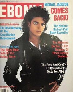 Ebony Magazine Cover, Black Magazine, Magazine Covers, Facts About Michael Jackson, Michael Jackson Bad Era, Michael Jackson Album Covers, Michael Jackson Merchandise, John Johnson, Lady In My Life
