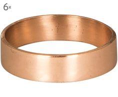 Serviettenringe Ring (6er-Set)