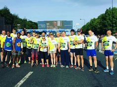 #greatnorthrun half marathon  Run by #SamHeughan & brother #CirdanHeughan for #Bloodwise  Pic from Sam, Bloodwise & various other sources