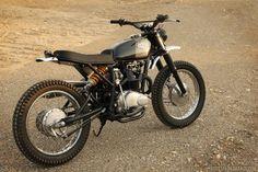 Honda CL360 Scrambler by Wilkinson Bros #motorcycles #scrambler #motos | caferacerpasion.com