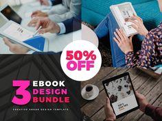 Bundle Ebook Template by rivatxfz on Business Brochure, Business Card Logo, Brochure Design, Brochure Template, Microsoft Powerpoint, Company Presentation, Cover Template, Cata