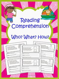 ONLY $0.72 (February 25th) during the TPT sale using promo code HEROES! Dr. Clements' Kindergarten : Reading Comprehension: Who? What? How?