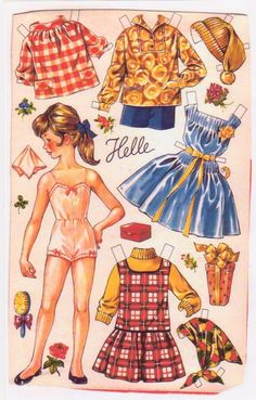 Dolls that were featured on the backs of OTA boxes (an oatmeal cereal), most printed in the 50's.