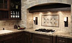 Traditional tiled kitchen