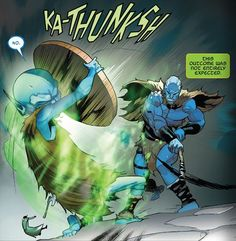 War of The Realms #1 KA-THUNKSH Sound Effects, War, Fictional Characters, Fantasy Characters