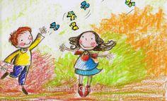 Papallones voleiant _ Estudi de color