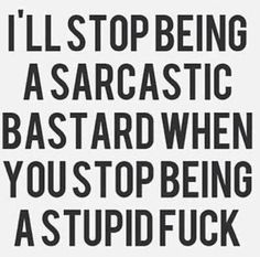 Sarcasm on Pinterest | Sarcastic Quotes, Facebook Humor and Funny ...