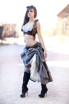 ML Steampunk Mistress Krash Cosplay