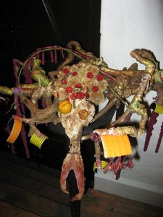"""Another animal I made for the exhibition """" The botanical Tivoli"""""""