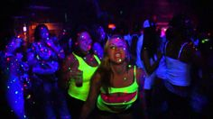 BRING ON THE NEON!!  Paint Party Tour 10/20/2012 REBAR PSL