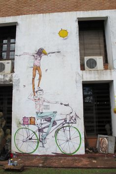 Street art by Mart in Buenos Aires.