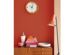 chambre rouge brique le catalogue d id es - Cuisine Couleur Rouge Brique