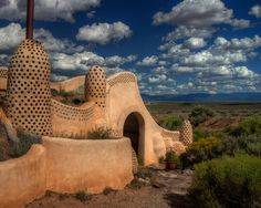 Earth Ships New Mexico | part of an Earthship House - Taos, New Mexico | Flickr - Photo Sharing ...