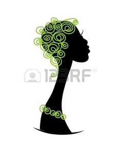 Female head silhouette for your design photo Female Head, Female Art, African Women, African Art, Afro, T Shirt Painting, Silhouette Art, Psp, Hostel