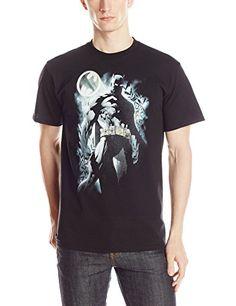 DC Comics Mens Batman Dark Knight Comic T-Shirt Black Large @ niftywarehouse.com #NiftyWarehouse #Batman #DC #Comics #ComicBooks