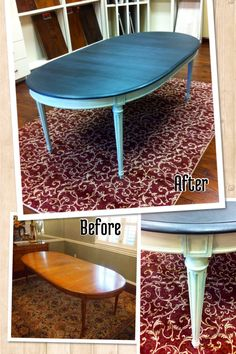 Dining table makeover!