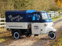 The Prosecco Van from the Windsor Cocktail Company. Retro styled mobile bar specialising in frizzante on tap and Prosecco based cocktails. Ideal for weddings, festivals & private events if you are looking for something unique & interactive! www.windsorcocktail.com for more details