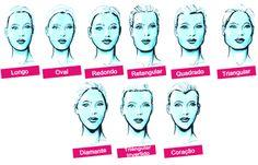 .  .      Cada tipo de pessoa tem um rosto diferente do outro, e cada formato fica mais harmônico com determinados tipos de cort...