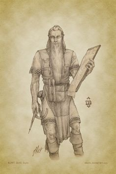 The Shipwright by aautio.deviantart.com on @deviantART-----Cirdan the Shipwright was the only elf that Tolkien described as having a beard, which was extremely rare for elves.