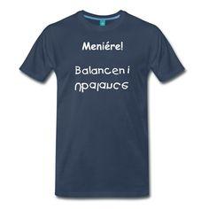 Bomuld T-shirt. Meniére T-shirt | CYBERASSIST.DK - KROGSAA.COM