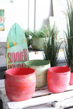 Kollektion Frühjahr & Sommer 2016 - Fachgroßhandel für Floristikbedarf, Deko & Wohnaccessoires Enjoy Summer, Watermelon, Beach House Interiors, Spring Summer, Home Accessories, Couple