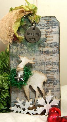 Carta di Anne divertimento: 12 Tags di Natale Tag 2