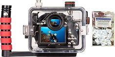 Canon 100D Rebel SL1 Underwater Waterproof Camera Housing by Ikelite 6970.01