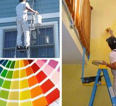 wall designing, spray painting, wood polish etc. We are introducing as a home wall painters Paint Texture, Texture Painting, Exterior Paint, Interior And Exterior, House Painting Services, Painting Contractors, Spray Painting, Painters, Polish