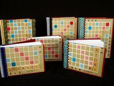 Lori Z Art Maniac: Scrabble Journals